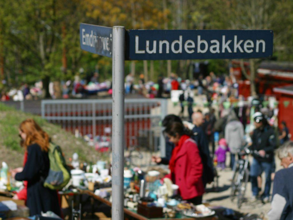 Loppemarked i Loppelunden - Lundebakken